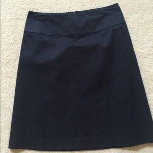 Banana Republic a line fully lined skirt